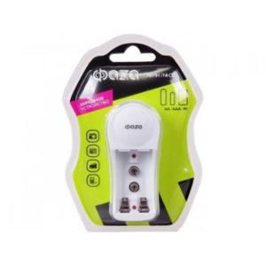 Зарядное устройство ФАZА В-50 2шт. R03/06, 9V, индикатор, складная вилка, BL1 (1/25) 00007847