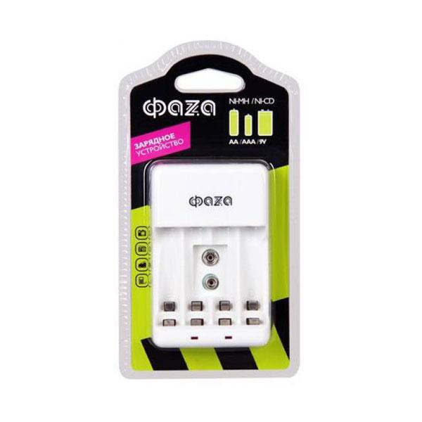 Зарядное устройство ФАZА В-55А 4шт. R03/06, 9V, индикатор, складная вилка, BL1 (1/20) 00007848