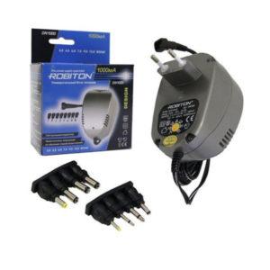 Блок питания Robiton DN1000 AC/DC,3-12V,1000mАh (15/30) 00007899