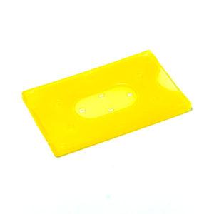 Футляр для Е-карты, жесткий пластик,5 цветов, 9х5.8см (10/50/1000) 00008140