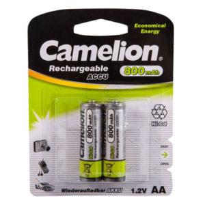 Аккумулятор Camelion R6/AA 800mAh Ni-Cd BL2 (24/480) [NC-AA800BP2] 00008211