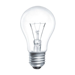 Лампа накаливания общего назначения А50 Томск Б230-95Вт-2 E27 гофраманжета, груша, прозрачная, 1235Лм (144) 00008320
