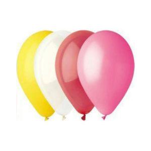 Gemar balloons Шар 7″/19см 100шт. Пастель ассорти (100) [art.70801, A70 ASS, A70/80] 00008386