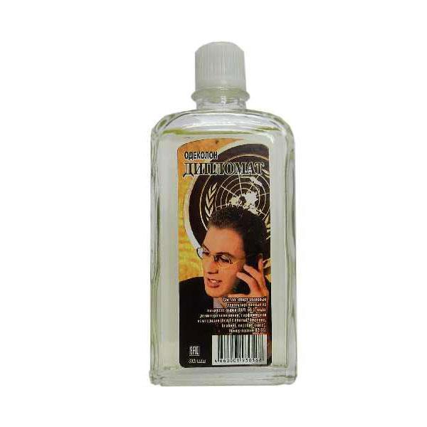 "Душистая вода без футляра Абар ""Дипломат"", 100мл, 27%, стекло, термопак (1/53) 00008433"