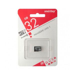 microSDHC 32Gb Class10 Карта памяти Smartbuy без адаптера [SB32GBSDCL10-00] 00008442