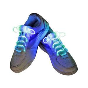 Шнурки светодиодные «Platude Laces» 80см.цвет микс 3 режима (50) 00008681