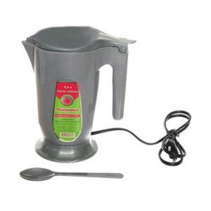 Чайник электрический пластиковый 0,6л «Минутка» мод.ЭЧ 0.6/0.5-220, 220Вт, цвет микс, 158х95х140мм (40) 00008687