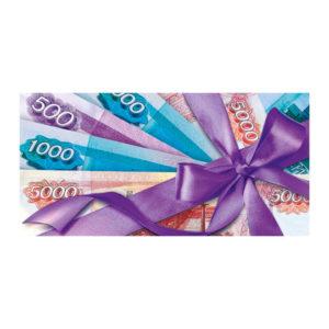 Конверт для денег 0217.389 Арт и Дизайн «Деньги», 17.0×8.5 см (5) БЗ008700