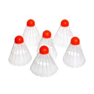 Волан пластиковый белый, пластиковое основание по 100шт. арт.1059856, вес: 3.1гр. пакет (100/2000) БЗ008787