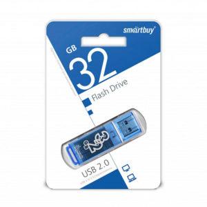 USB 2.0 флеш-накопитель 32Gb Smartbay Clossy Series синяя,колпачек,58х19мм [SB32GBGS-В] О0000250