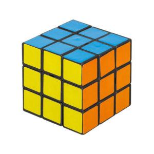 Головоломка кубик, 5.2см, формула 3х3х3 «Кубик Рубика» арт.KL-05, чёрный пластик, бумажные плитки, пакет, с 6 лет, 5,2х5.2х5.2см (5/360) 00007451