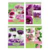 """Блокнот А5 40л. на гребне """"BG"""" Flowers notebook, арт.Б5гр40_7458 (1/12) БЗ009563"""
