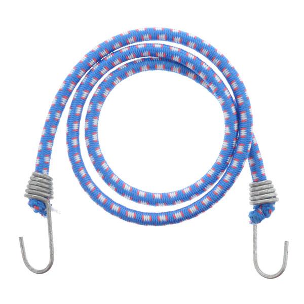 Резинка для крепления багажа с металлическим крюком 1.3м, арт.S-20074, цвет микс (10/300) БЗ009953